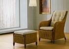 Кресло и пуфик Bergere
