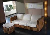 Плетеная мебель Abaca Block