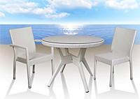 Стол Milos и и стулья Bikini
