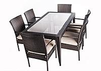 Обеденный стол Мальта + 6 стульев