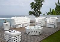Садовая мебель: диван, кресла, столики, пуфик