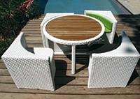 Стол и и стулья QUATTRO