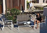 Диван, кресло и столик Aqua
