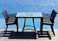 Комплект: 6 стульев и обеденный стол